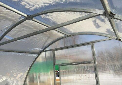 Теплица из сотового поликарбоната в Лисичанске фото