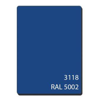 Алюмінієві композитні панелі однотонний темно-синій 3118