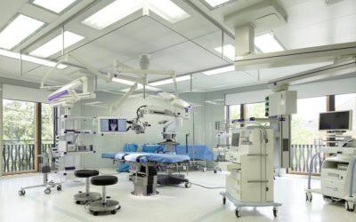 Потолки в медицинских учреждениях – требования, уход.